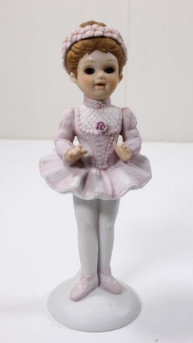 The Victorians By Enesco Ballerina Figurine