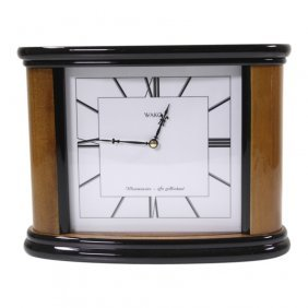 Wako Electric D Cell Mantle Clock
