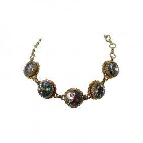 Schiaparelli Aurora Borealis Necklace