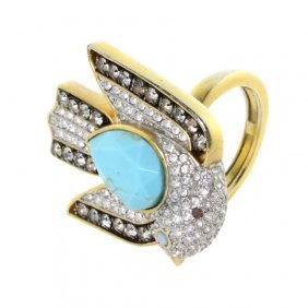 Juicy Couture Costume Jewelry Dove Ring