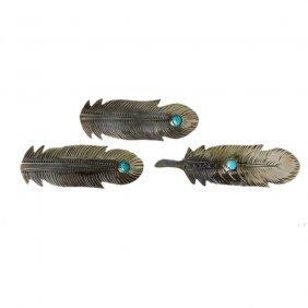 Navajo Sterling Earring Pendant Set