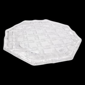 Tiffany Bamboo Crystal Salad Plate