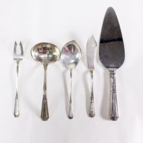 Lot Of Towle Louis Xiv Sterling Serving Pieces