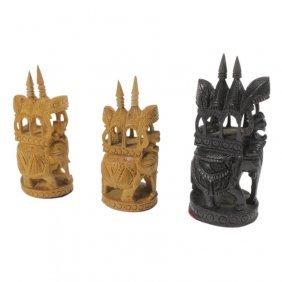 3 Siamese War Elephants