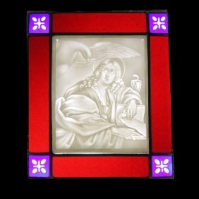 Porcelain Allegorical Lithophane
