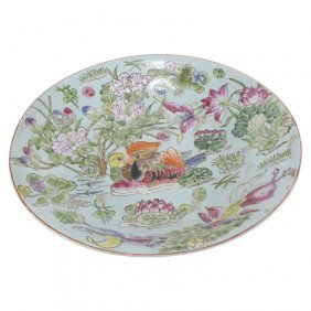 Chinese Trade Porcelain Basin