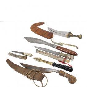 7 Souvenir Knives