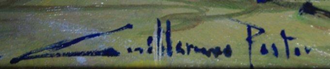 Guillermo Pastor Original Painting - 2