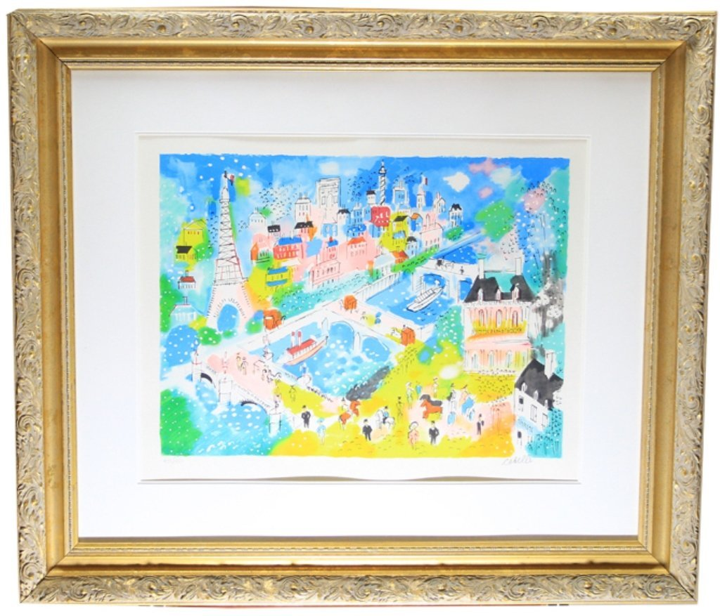 Charles Cobelle Signed & Numbered Print - 2