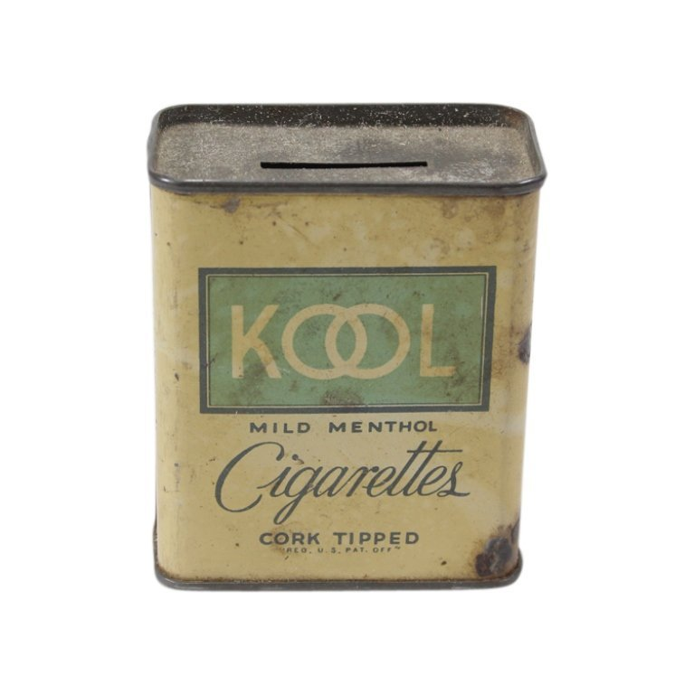 Vintage Metal Cigarette Box and Packages - 2