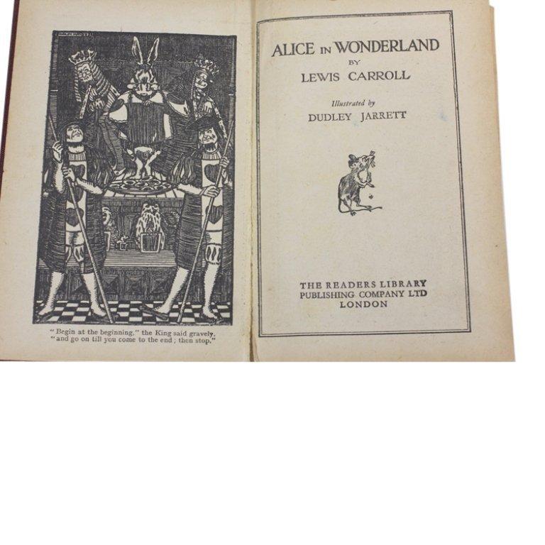 Alice in Wonderland Illustrated by Dudley Jarrett - 2