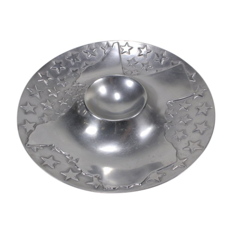Wilton Armetale Texas Chip and Dip Tray
