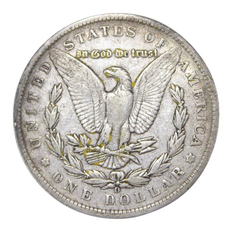 1890 O Morgan Silver Dollar - 2