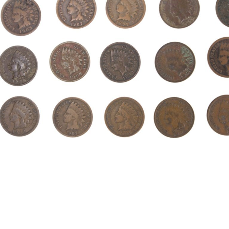 Lot of Indian Head Pennies - 3