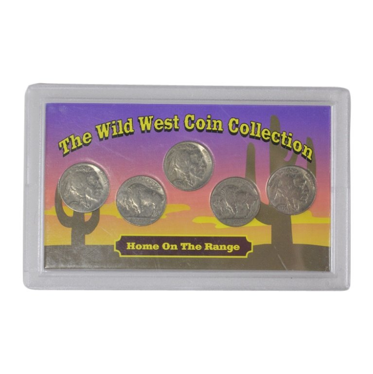 Wild West Coin Collection Buffalo & Indian Head