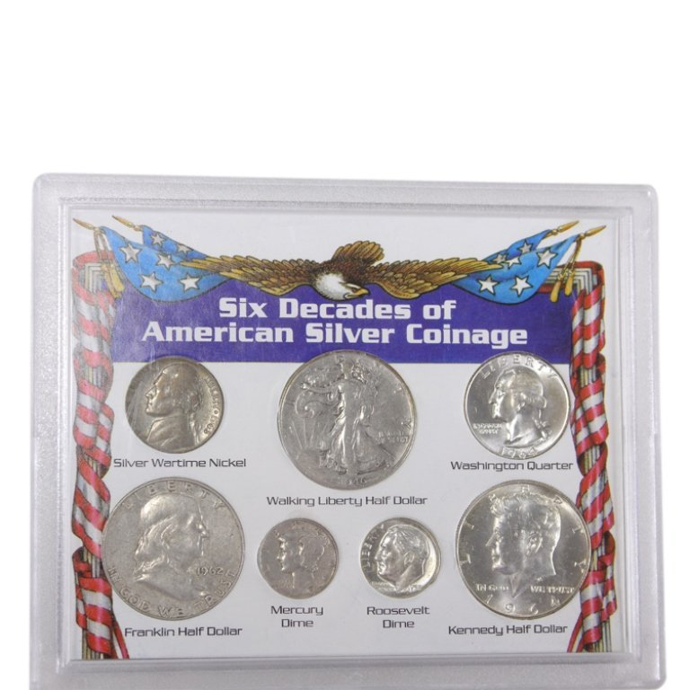 Six Decades of American Silver Coinage