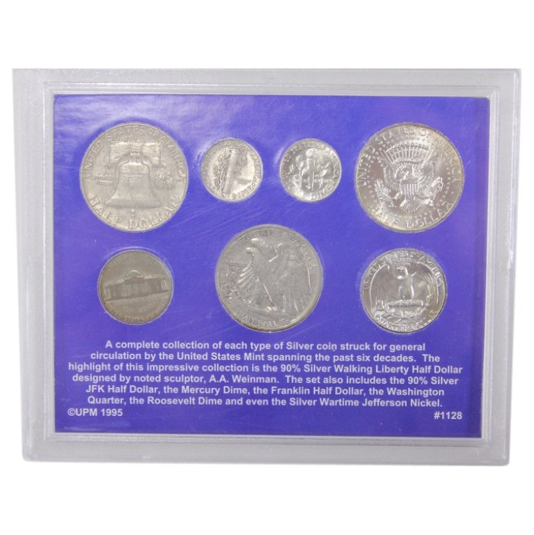Six Decades of American Silver Coinage - 2