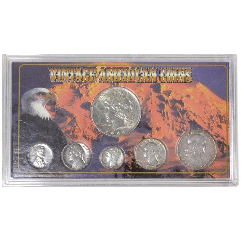 Vintage American Coins Set