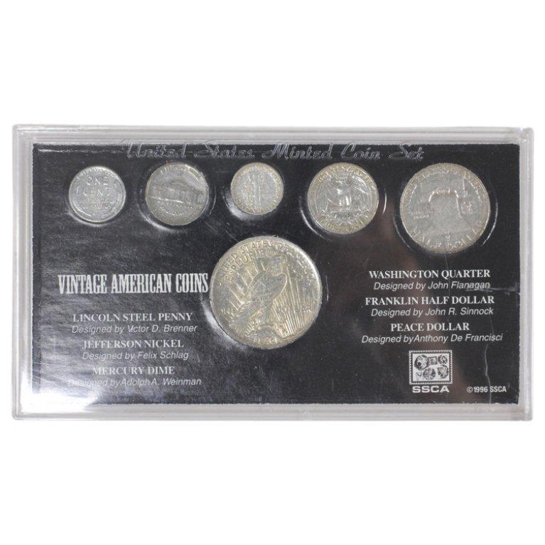 Vintage American Coins Set - 2