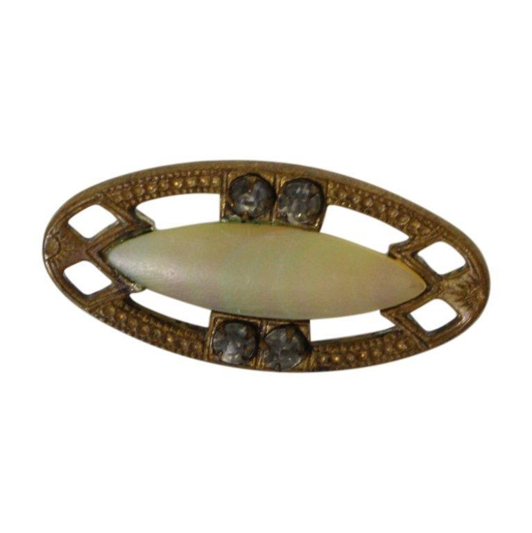 Vintage Oval Brooch