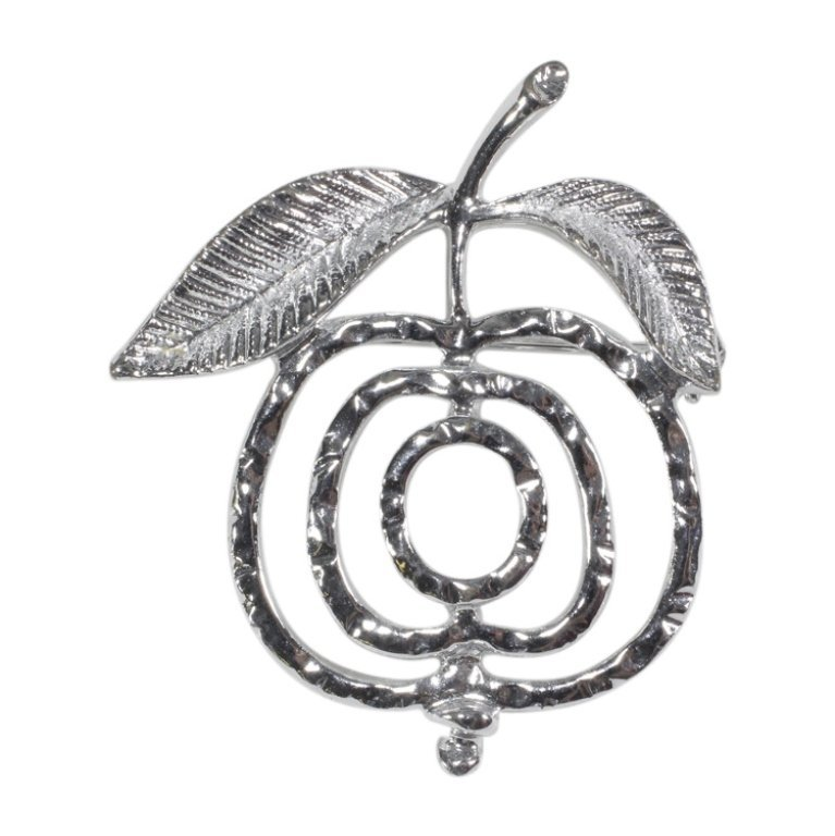 Sarah Coventry Apple Brooch