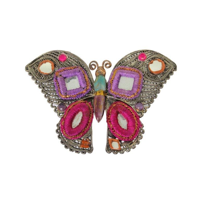 GAS Butterfly Pin Brooch