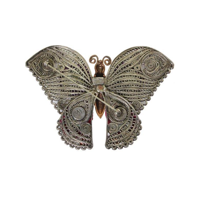 GAS Butterfly Pin Brooch - 2