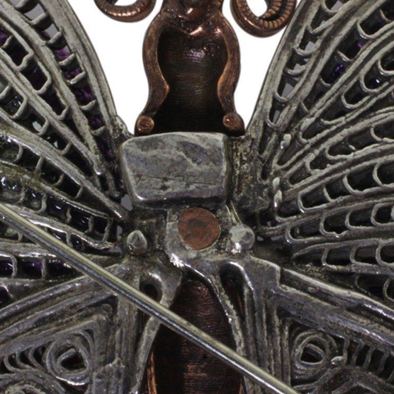 GAS Butterfly Pin Brooch - 3