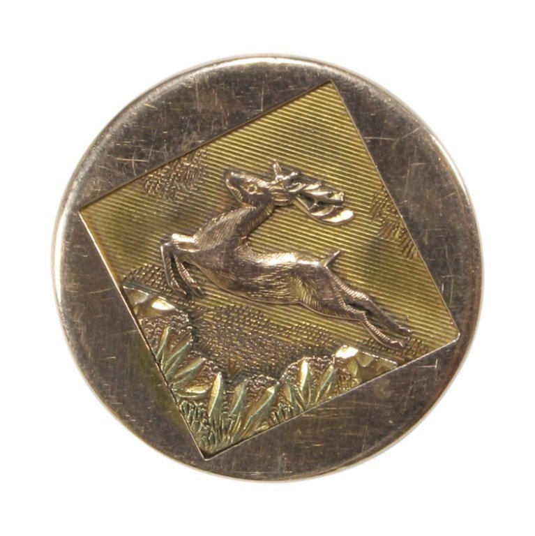 Vintage Leaping Stag Pin