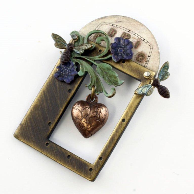 Vintage Unusual Pin Brooch