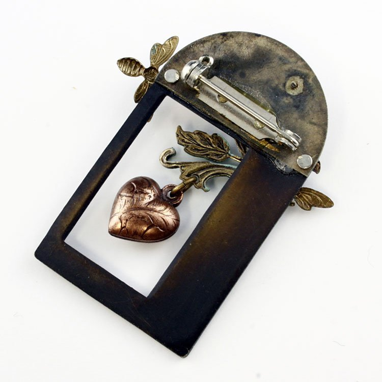 Vintage Unusual Pin Brooch - 2