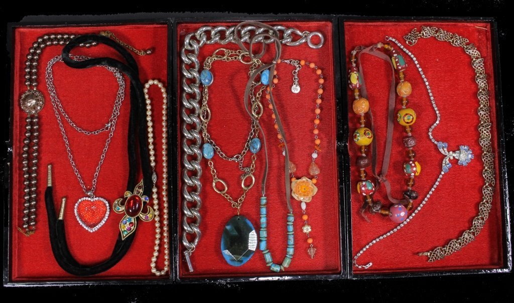 Estate Group of Necklaces