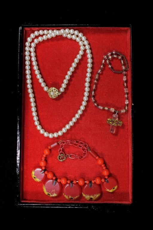 Estate Group of Necklaces - 2