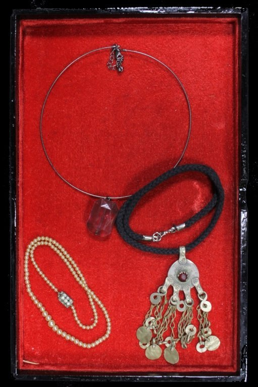 Estate Group of Necklaces - 3