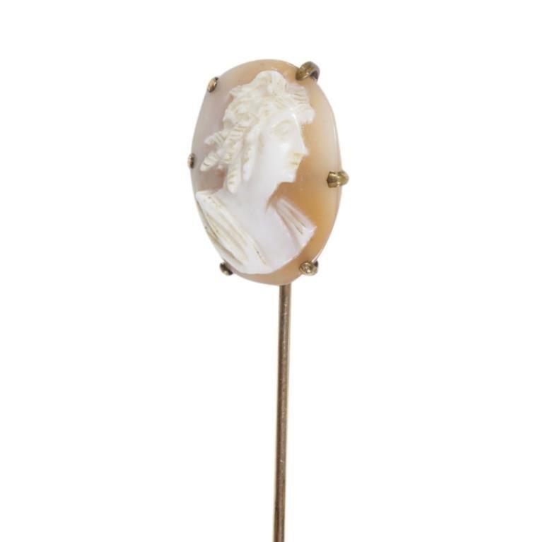 Cameo Hat Pin