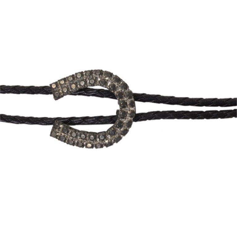 Bolo Tie with Horseshoe