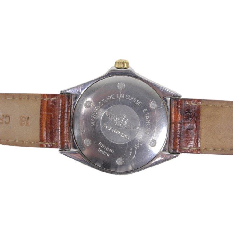 Breitling 1884 Callisto Stainless Watch - 3