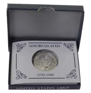 982 George Washington Silver Commemorative Half