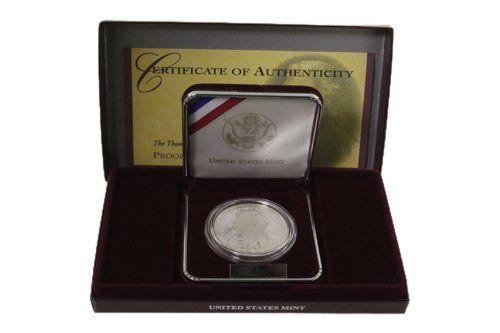 Thomas Jefferson 250th Anniversary Silver Proof