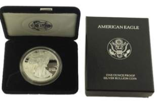 1997 P Silver American Eagle One Ounce Proof Coin
