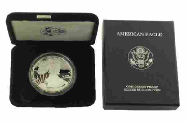 2006 W Silver American Eagle One Ounce Proof Coin