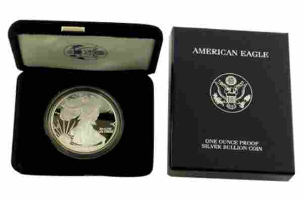 2003 W Silver American Eagle One Ounce Proof Coin