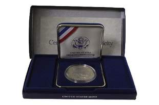 1987 Silver Dollar US Constitution Coin