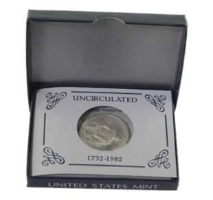 1982 George Washington Silver Commemorative Half