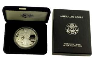 1999 P Silver American Eagle One Ounce Proof Coin