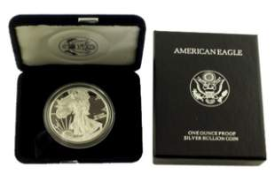 1998 P Silver American Eagle One Ounce Proof Coin