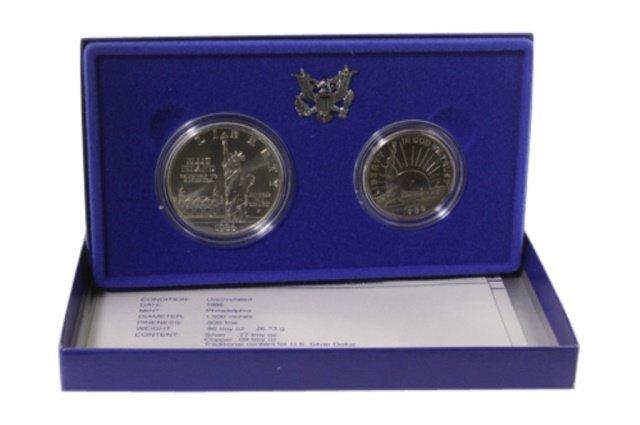 1986 US Liberty Coins