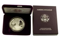 1993 P Silver American Eagle One Ounce Proof Coin