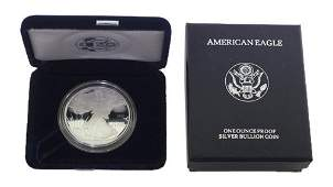 1995 P Silver American Eagle One Ounce Proof Coin