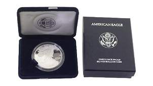 1996 P SIlver American EAgle One Ounce Proof Coin